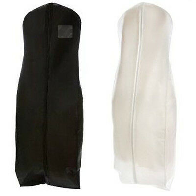 "72"" Breathable Garment Dress Cover Long Bridal Wedding Dresses Storage Bag"