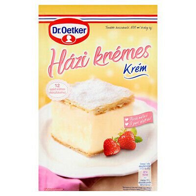3 PACK DR OETKER HAZI KREMES CREAM POWDER 230g - FREE SHIPPING
