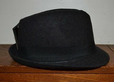 Putnam Accessory Group Dark Gray Fedora BRAND NEW WITH TAGS