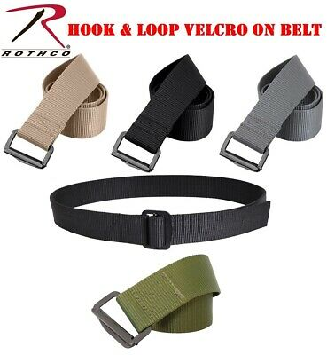 Mens Belt Bdu Military Style Riggers Duty Belt Polypropylene Metal Buckle Rothco