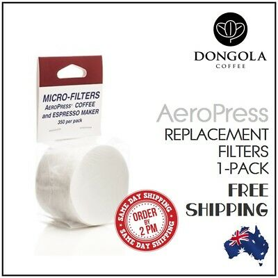 1PK (350) AEROPRESS Replacement Filters Coffee Espresso Maker Brewer Aerobie