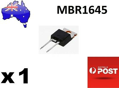 MBR1645 16A 45V Schottky Rectifier/Barrier (Solar/Wind) AU Stock Fast Delivery