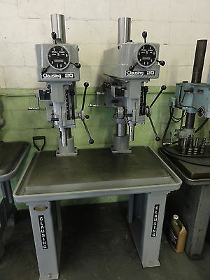 "Clausing Twin 20"" Variable-Speed Drill Press"