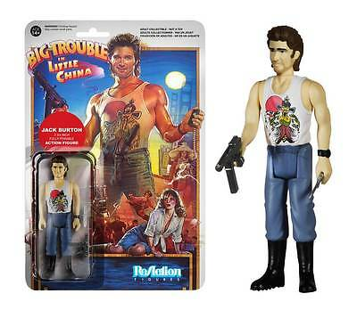 Funko Reaction Big Trouble in Little China Jack Burton Action Figure