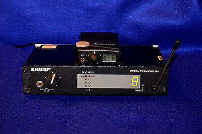 Shure PSM 400 UHF Wireless Professional On-Stage IEM Monitor System P4T P4R X1
