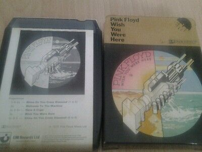 Pink floyd wish you were here 8x shvl 814    8 track tape