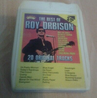 The best of roy orbison ade ca19    8 track tape