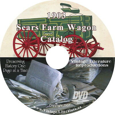 1903 Sears Farm Wagon Catalog and More!! { Horse & Buggy History } on DVD