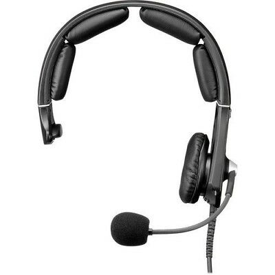 Telex MH-300 Single-Sided Noise-Canceling Headset with 4Pin XLR Female Connector