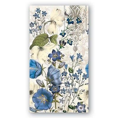THREE (3) Blue Meadow Hostess Napkins for Decoupage and Paper Crafts