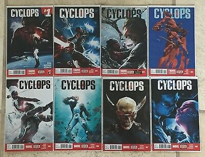 Cyclops (2014) #1 2 3 4 5 6 7 8 1St Print Full Set