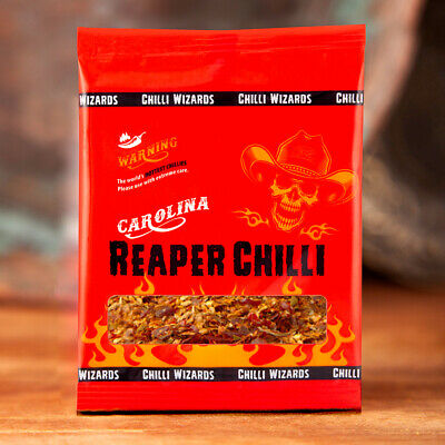 Carolina Reaper Chilli Flakes - Worlds Hottest Chilli - 100% Reaper 50g
