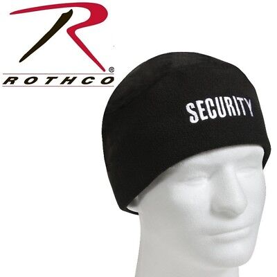 Security Guard Officer Polar Fleece Winter Watch Cap Skull Cap Hat Rothco 8643