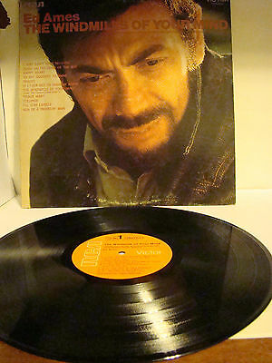 Ed Ames RCA The Windmill's of Your Mind LP 33 Victor stereo