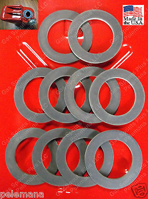 "10 NEW GAS ""CAP GASKETS"" MILITARY Jerrycan Gerry G 5 Gallon 20L Rubber Fuel USMC"