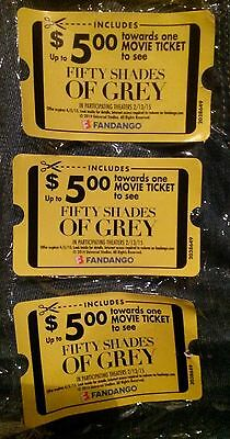 (3) $5.00 off Tickets To Fifty Shades of Grey In Theaters 2/13/2015
