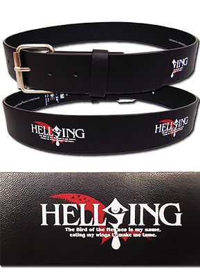 "*NEW* Hellsing: Ultimate Logo PVC X-Large (XL) 38""-42"" Belt by GE Animation"