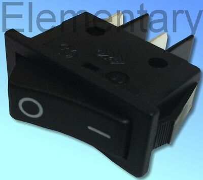 Single Pole Electric Fire Rocker Switch 16Amp 250V