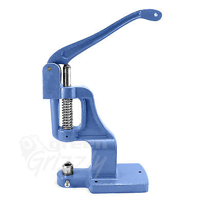 Universal hand press machine for rivets, press fasteners and button making AWA