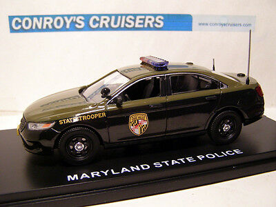 First Response Replicas Maryland State Police 2014 Ford PI Sedan - 1/43rd scale