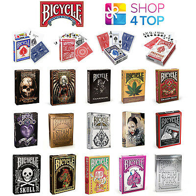 Bicycle Playing Cards Deck Decks Magic Tricks Poker Plastic Coated Sealed Uspcc