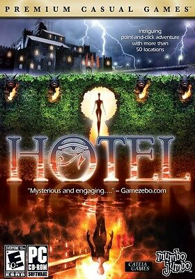 Hotel PC Games Windows 8 7 Vista XP Computer point and click adventure mystery