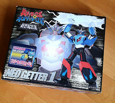 Aoshima Diecast Neo Getter DIRTY Version mint