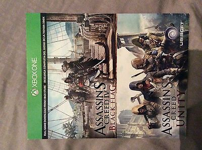 Assassin's Creed Black Flag &Unity Microsoft Xbox One