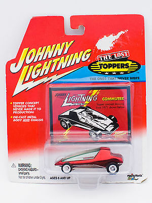 2001 Johnny Lightning The Lost Toppers Beep Heap car MOC