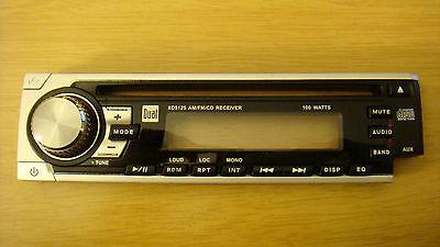 DUAL XD5125 Car Stereo AM/FM Radio CD Player w/ AUX Detachable FACE PLATE ONLY