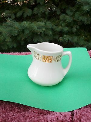 SHENANGO CHINA U.S.A. , CREAMER W/FULL MARKINGS . RESTARUANT WARE.