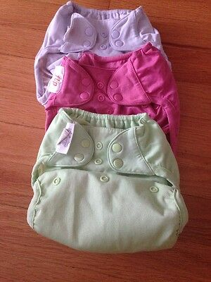 3 Flip Diaper Covers ONE SIZE OS In Need Of Minor Repair