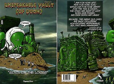Goomi´s-Cthulhu-Unspeakable Vault of Doom-Vol.2-Lovecraftian Comic-new-very rare