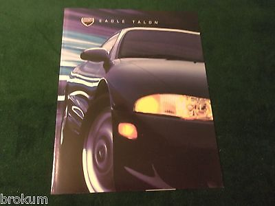 Mint 1997 Eagle Talon Prestige Sales Brochure Original W/ Color Chart (Box 400)