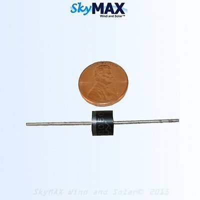20 Schottky 10 amp diodes 50 volt for solar panels pv photovoltaic solar panel