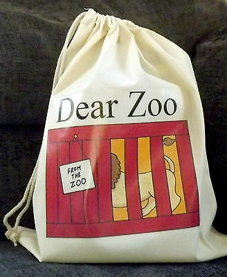DEAR ZOO Empty Story Sack & Teaching Resources CD