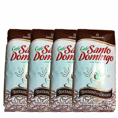 4 pounds of Cafe Santo Domingo Whole Bean Coffee 10% Sale