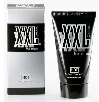 XXL Cream for Men 50 ml Crema per Ingrandire ed Allungare il Pene con Aloe Vera