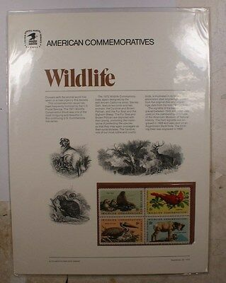 American Commemoratives Wildlife stamps