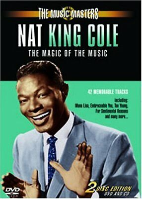 The Music Masters Nat King Cole, New DVD, Nat King Cole,