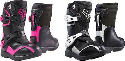2017 Fox Racing Kids Comp 5K Boots - MX ATV Motocross Off-Road Dirt Bike Boys