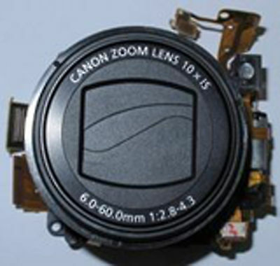 Lens Zoom Unit With CCD 10MP For Canon Powershot SX120 IS Assembly Part Original