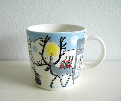 Arabia Finland Moomin Mug Christmas 2012 Winter Forest, Winterforest, Talvimetsä