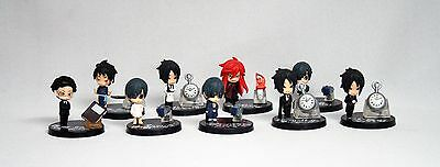 Black Butler 9-piece Figure Set