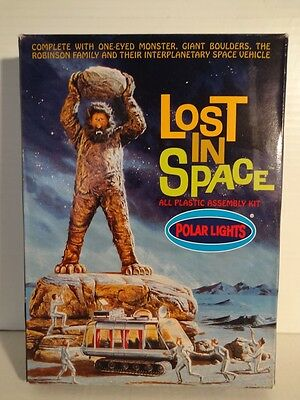 (NIB) 1998 LOST IN SPACE - ONE-EYED MONSTER #5032 POLAR LIGHTS KIT!