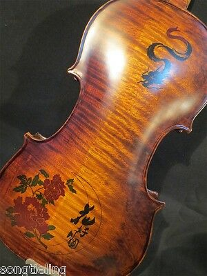 Copy Old Finishes Strad style carving SONG Brand Maestro 4/4 violin #10275