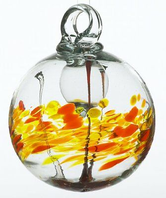 Kitras 3-Inch Scent Cranberry Pear Glass Ornament