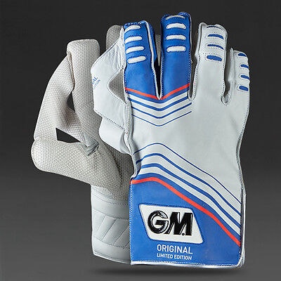 GM Original Limited Edition Wicket Keeping Gloves + Free Cotton Inner & Delivery