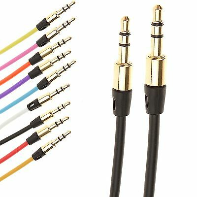 AUX Kabel Klinke 3,5 mm Stereo Audiokabel Universal Stecker Audio TV MP3 iPod