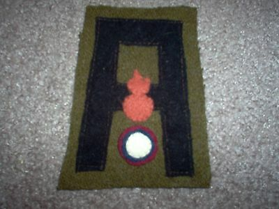 WWI US Army 1st Army Air Service Aero Ordinace unit Patch AEF